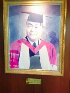 Ngoya University of Commerce and Business founder