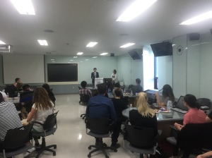 Networking with Hanyang University Students